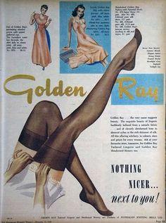 1949 stocking ad