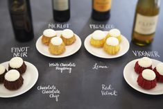 Nothing Bundt Cakes goes perfectly with your favorite wines. Try these pairings at your next cocktail party, or host a wine tasting night! Wine Tasting Events, Wine Tasting Party, Wine Parties, Mini Tortillas, Wine And Cheese Party, Wine Cheese, Pinot Noir, Wine Recipes, Snack Recipes