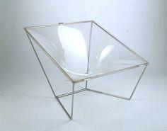 David Colwell, contour chair, 1968. Via V&A
