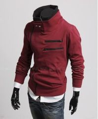 Get a look like Desmond Miles from Assassin's Creed in these hooded jackets based on the world famous game. Available in Black, Blue, White, Light Grey, Dark Grey and Red. Gender: Men Clothing Length: