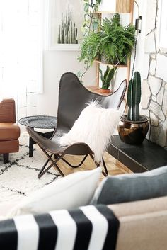 Bohemian Modern Living Room Fall Must Have