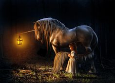 Every mother hopes their child will see a unicorn, Unicorn Fantasy, Unicorn Art, Magical Unicorn, Mythical Creatures Art, Magical Creatures, Fantasy Creatures, Fairytale Creatures, Fantasy Images, Fantasy Art