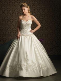 Lauren-Vestido de Noiva em cetim - dresseshop.pt