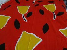 Saanko luvan, design Anneli Airikka-Lammi, Made in Finland By Tampella. Finland, Retro Vintage, Print Design, Cotton Fabric, Textiles, How To Make, Egg, Print Layout, Cloths