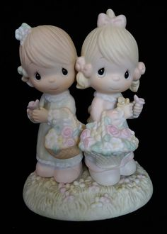 Precious Moments To My Forever Friend Enesco Figurine Flowers 180072