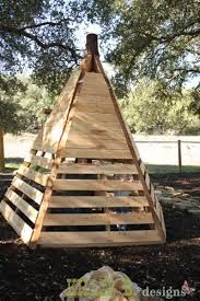 Image result for how to build a wooden teepee
