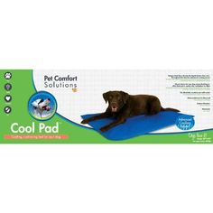 KandH Manufacturing Pet Comfort Solutions Large Cool Pad, Blue, X-Large * Click on the image for additional details.