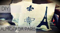Ideias Personalizadas : DIY: Almofada Paris