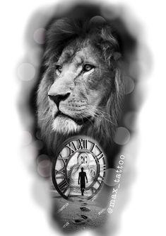 Lion Head Tattoos, Lion Tattoo, Religion Tattoos, Feather Drawing, Tattoo Studio, Latest Tattoos, Lion Pictures, Tattoo Stencils, Custom Tattoo