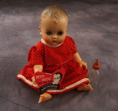 images of betsy wetsy   Vintage Betsy Wetsy Doll With Accessories