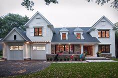 New Home Build – Exterior Main Entrance & Garage, Oakville | whitehallhomes.ca