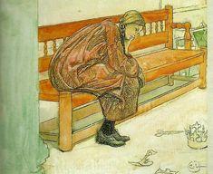 Complete Works Of Carl Larsson | Carl Larsson:. skiss till teaterfunderingar