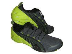 Mens PUMA KAYAK BOAT WATERPROOF Shoes Slip on Sneakers 9.5 YELLOW
