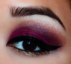 Maybe not so dark on the plum and no black waterline liner on the bottom