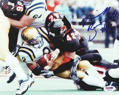 Nick Barnett Autographed 8x10 Photo Oregon State PSA/DNA #Q97521