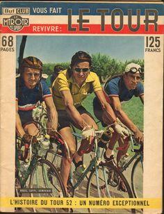 Coppi in een Tourspecial van 1952 - Italiaanse Racefietsen