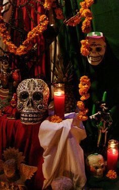 Altares día de muerto