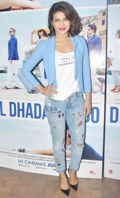 Priyanka Chopra at a screening of 'Dil Dhadakne Do'.