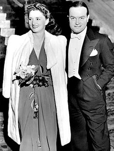 Dolores and Bob Hope in 1941.