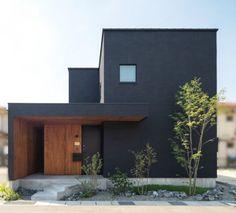 Minimalist House Design, Minimalist Architecture, Modern Architecture House, Architecture Design, Chinese Architecture, Futuristic Architecture, House Cladding, Facade House, Home Building Design