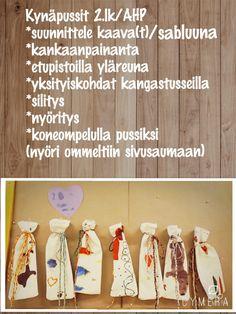 Kynäpussit 2.lk/AHP Needlework, Drop Earrings, Crafts, Embroidery, Dressmaking, Manualidades, Couture, Handarbeit, Drop Earring