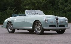 Ok. I retract my previous comment. THIS is my all-time favorite. The most beautiful car built. Post war Alfa Romeo 6C 2500 SS Cabriolet. Only 26 believed to have been built in 1947. God Bless the Italians. Everything they touch is hot.