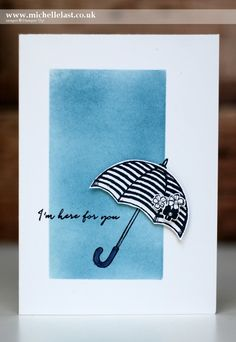 Sponging using Weather Together from Stampin Up