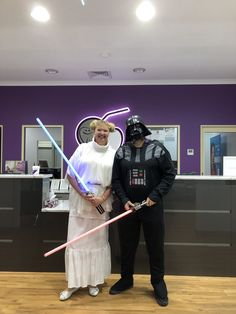 Fun time on Star Wars Day May the 4th be with you