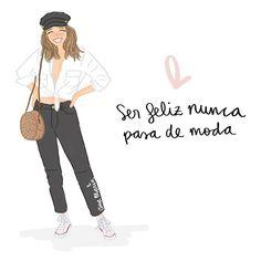 Y ahora con unos días de vacaciones es fácil estar así 😄😄 (inspo outfit @luciabarcena ) Pretty Quotes, Girly Quotes, Life Quotes, Motivational Phrases, Inspirational Quotes, Postive Quotes, Daily Inspiration Quotes, Power Girl, Spanish Quotes