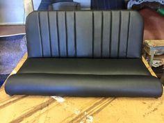 Black car back seat Car Seat Upholstery, Smart Car, Back Seat, Car Seats, Classic Cars, Couch, Furniture, Black, Home Decor