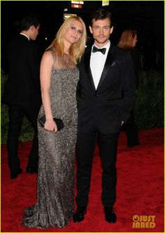 Claire Danes shimmers in a bedazzled dress while walking the red carpet at the 2013 Met Gala held at the Metropolitan Museum of Art on Monday (May 6) in New York…