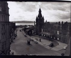 Train Station, Dundee 1950's