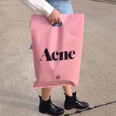 I need acne in my closet, not on my face. Fashion Packaging, Brand Packaging, Fashion Branding, Packaging Design, Branding Design, Logo Design, Product Packaging, 2 Logo, Shop Till You Drop