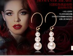 Find More Drop Earrings Information about 2015 new brand freshwater natural pearl earings boucles d'oreilles de mariee brincos fashion silver Korean female drop earrings,High Quality earring vintage,China earrings ball Suppliers, Cheap earring tree from Cool Angel Girl on Aliexpress.com