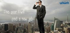 This year I will...find a new job