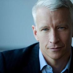 Anderson Cooper... as they say, it should be illegal to be this beautiful.