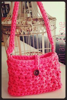 PASO A PASO CESTO DE TRAPILLO PUNTO FLOR / Knit and Love