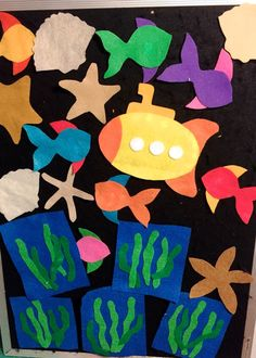I had so much fun making and using my Outer Space Set that I wanted to see if I could create an under the sea version. There are 4 starfish, all different shapes, 3 scall. Felt Board Stories, Felt Stories, Under The Ocean, Flannel Friday, Flannel Boards, Sorting Activities, Early Literacy, Felt Toys, Different Shapes
