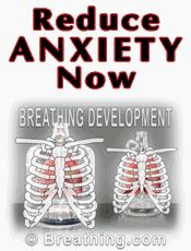 Reduce anxiety with proper breathing techniques.