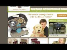 AWARD-WINNING spill proof pet bowls!!!  The Neater Feeder has arrived!