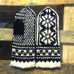 リトアニアの?手編み手袋