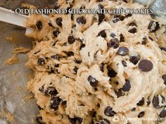 Old Fashioned Chocolate Chip Cookies – Food Recipes