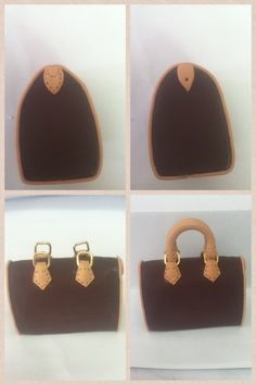 How to make designer bag, clay but could be used with fondant and gumpaste too