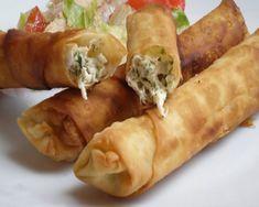 Este aperitivo es de origen turco. Crujiente por fuera y muy cremoso por dentro es un estallido de sabor a queso en cada mordisco.