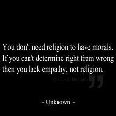 empathy......