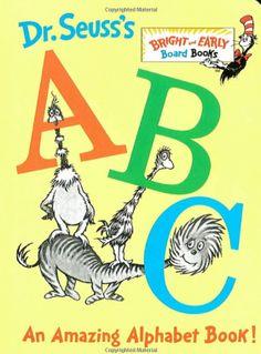 Dr. Seuss's ABC: An Amazing Alphabet Book! | Classic Children's Books - Parenting.com I love this pic, thanks! Check out this post about 2d pop up alphabets. http://tpt-fonts4teachers.blogspot.com/2013/02/abc-2-dimensional-pop-up-alphabet-book.html