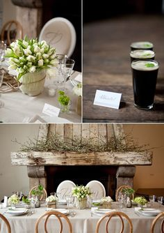 i want to redo my wedding and have this as my theme. I guess I'll just have to settle for decorating my house or hosting a dinner party like this?