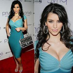 Kim Kardashian Crystal Colorblock Bandage Dress http://www.celebdressy.com/Kim-Kardashian-Hosts-A-Night-At-Prive-Las-Vegas-with-a-Crystal-Colorblock-Dress