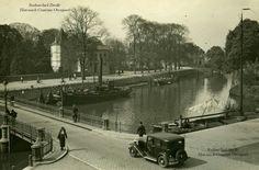 De oude havenbrug