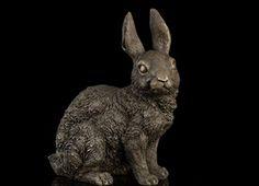 Copper Brass CHINESE crafts Asian Art Deco escultura coelho <font><b>animais</b></font> de Bronze